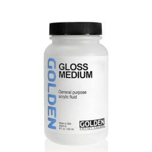 Golden-Fluid-Gloss-Medium-(3510)-237ml-Bottle