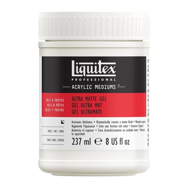 Liquitex-Ultra-Matte-Gel-Medium-237ml-Bottle