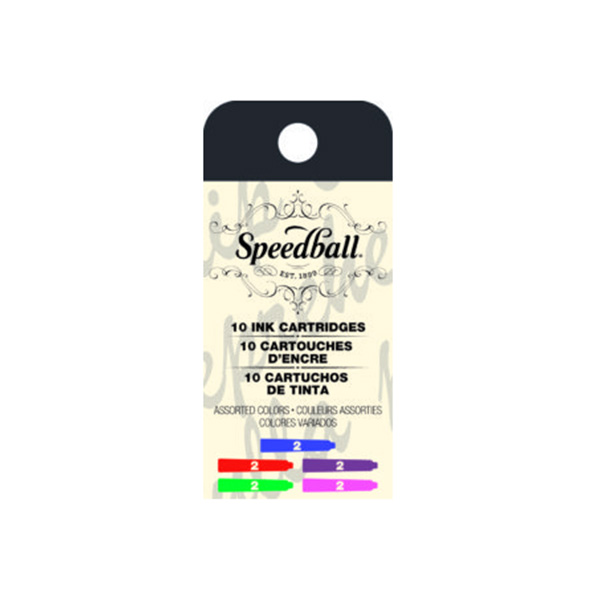 Speedball-Calligraphy-Fountain-Cartridges-in-Assorted-Colours