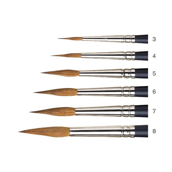 Winsor-and-Newton-Professional-Watercolour-Sable-Brushes-Pointed-Round