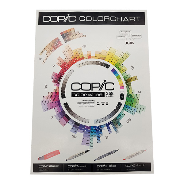 Copic-Colour-Chart-Brochure-Front-Page
