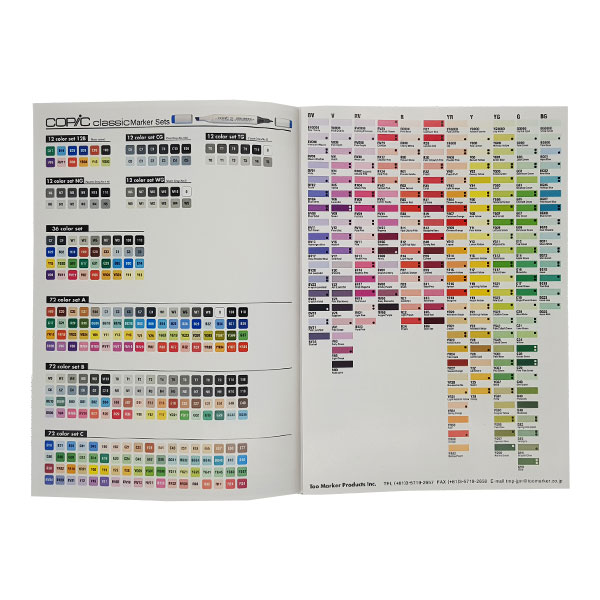 Copic-Colour-Chart-Brochure-Inside-Page