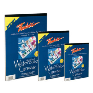 Fredrix-Watercolor-Canvas-Pads-In-Various-Sizes