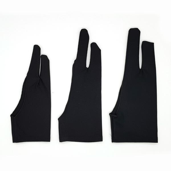 Prime-Art-Artist-Black-Two-Finger-Gloves-in-various-sizes