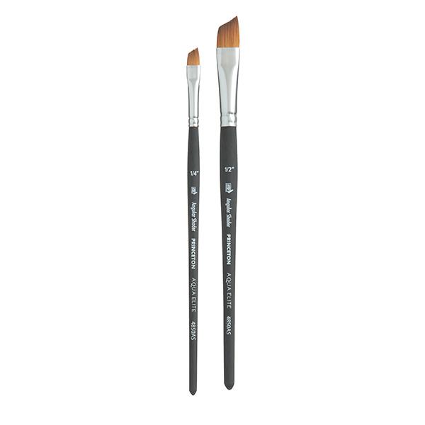Princeton-Aqua-Elite-Angle-Shader-Brushes-Group-Set