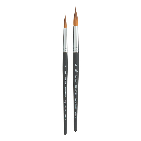 Princeton-Aqua-Elite-Long-Round-Brushes-Group-Set