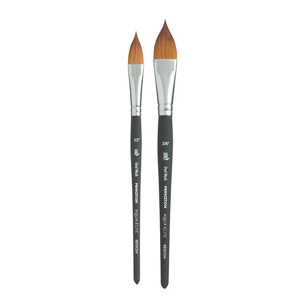Princeton-Aqua-Elite-Oval-Wash-Brushes-Group-Set
