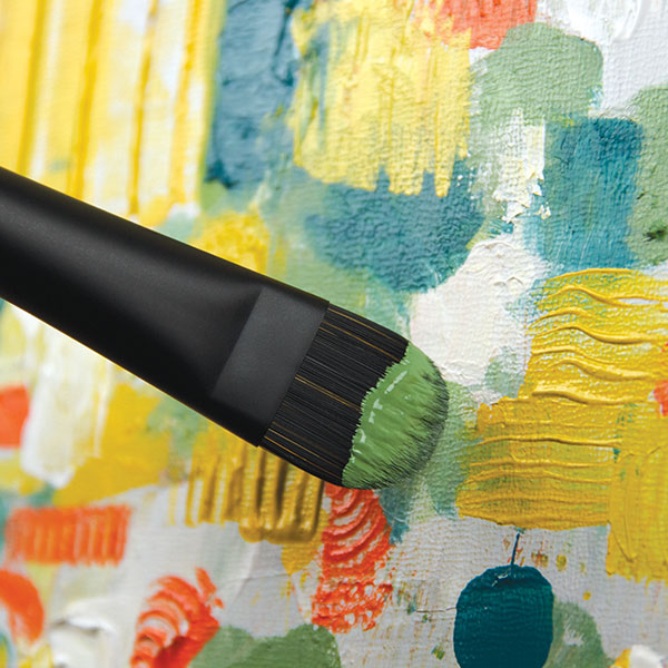 Princeton-Catalyst-Polytip-Brush-used-on-a-painting