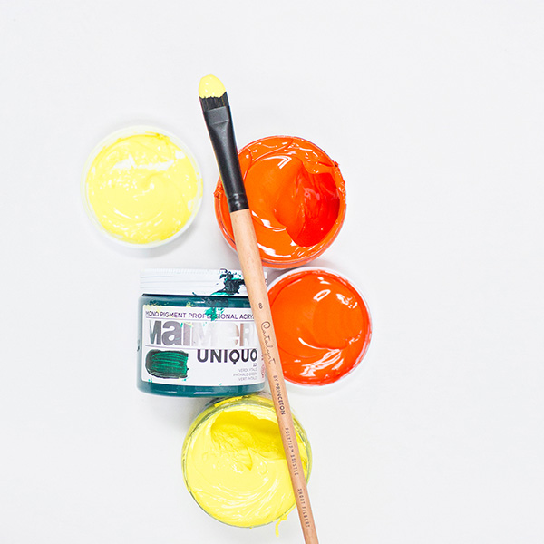 Princeton-Catalyst-Polytip-Brush-with-Maimeri-Acrylic-Paint