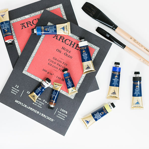 Princeton-Catalyst-Polytip-Brushes-with-Maimeri-Oil-Paint