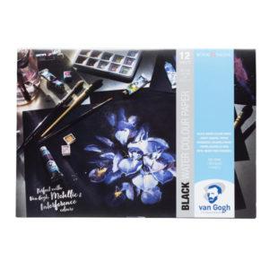 Royal-Talens-Van-Gogh-Black-Water-Colour-Paper-Pad