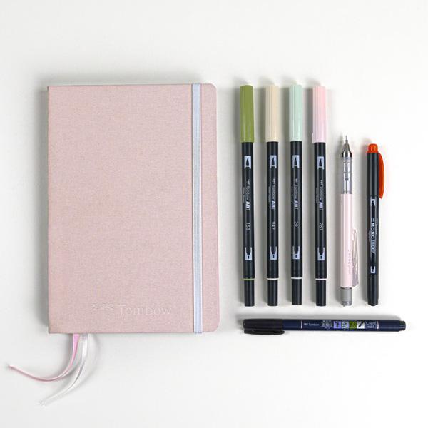 Tombow-Creative-Journaling-Pastel-Kit Contents