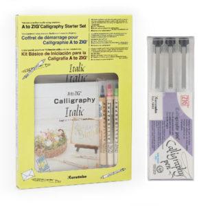 Kuretake-ZIG-Calligraphy-Sets-Main-Product-Image