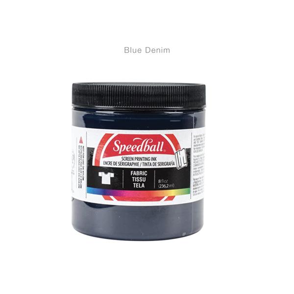 Fabric-Screen-Priting-Ink- Blue Denim -Speedball---Colours-2