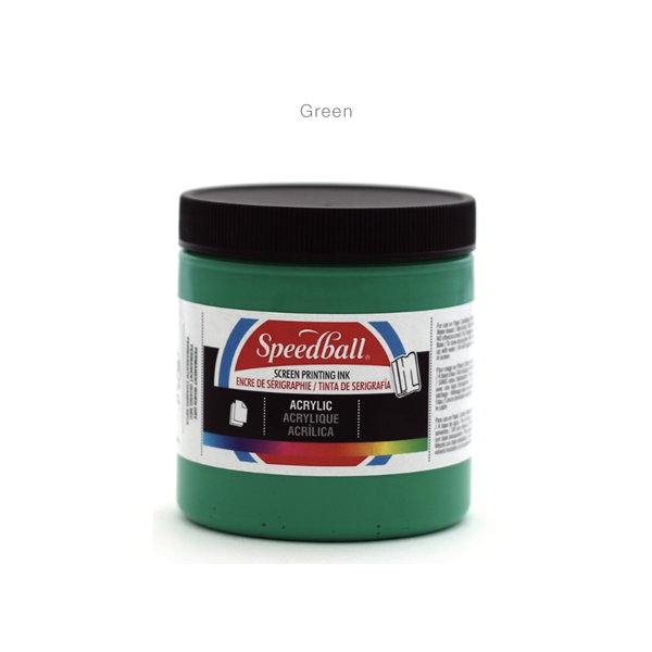 Fabric-Screen-Priting-Ink- Green -Speedball---Colours-8