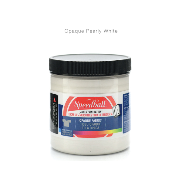 Fabric-Screen-Priting-Ink- OPaque Pearly White -Speedball---Colours-12