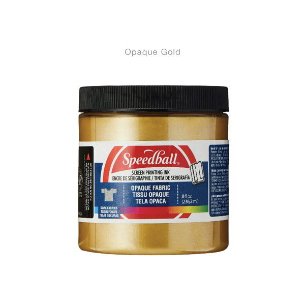 Fabric-Screen-Priting-Ink- Opaque Gold -Speedball---Colours-11