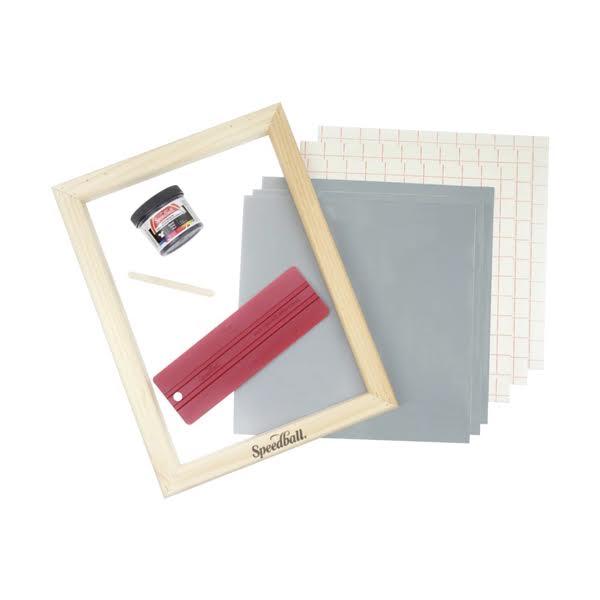 Screen Printing Craf Vinyl Kit Contents- Speedball