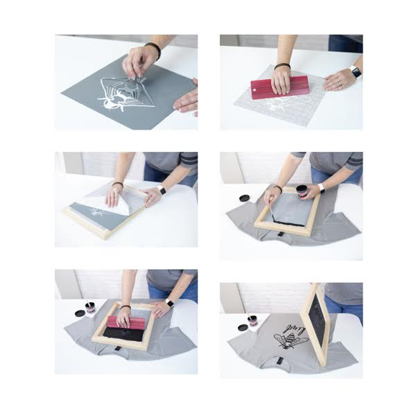Screen Printing Craf Vinyl Kit Instructions- Speedball
