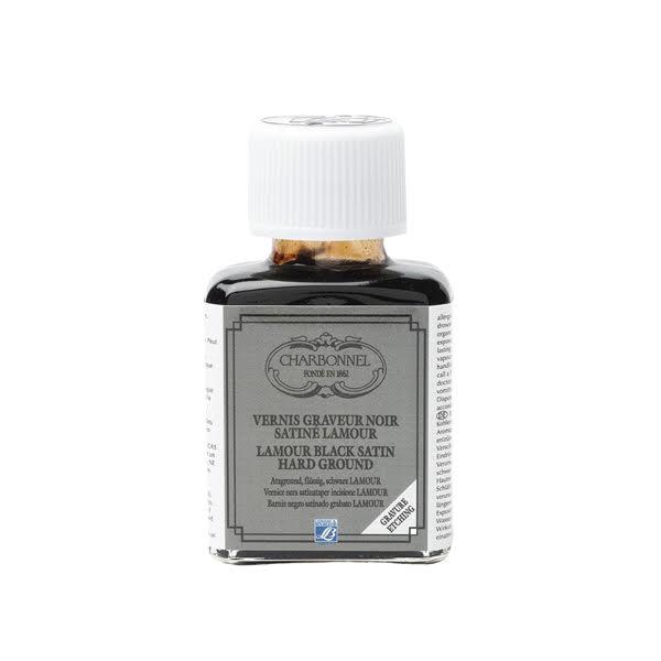 Black Varnish 75ml- Charbonnel